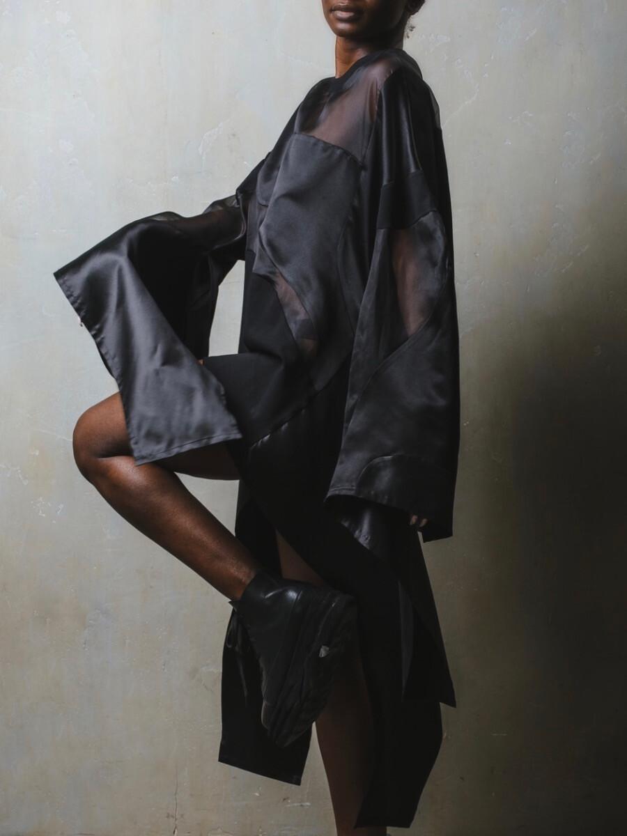 Платье-туника - Шёлковый ветер