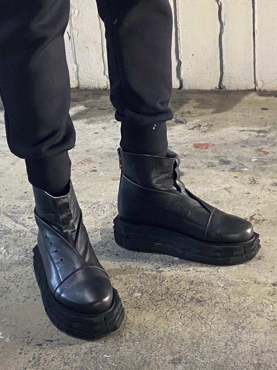 Мужские ботинки - Оригами