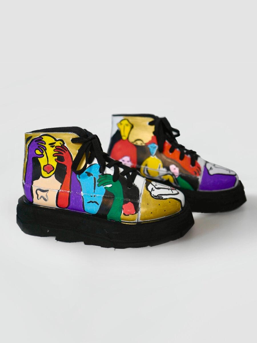 Ботинки - Лица