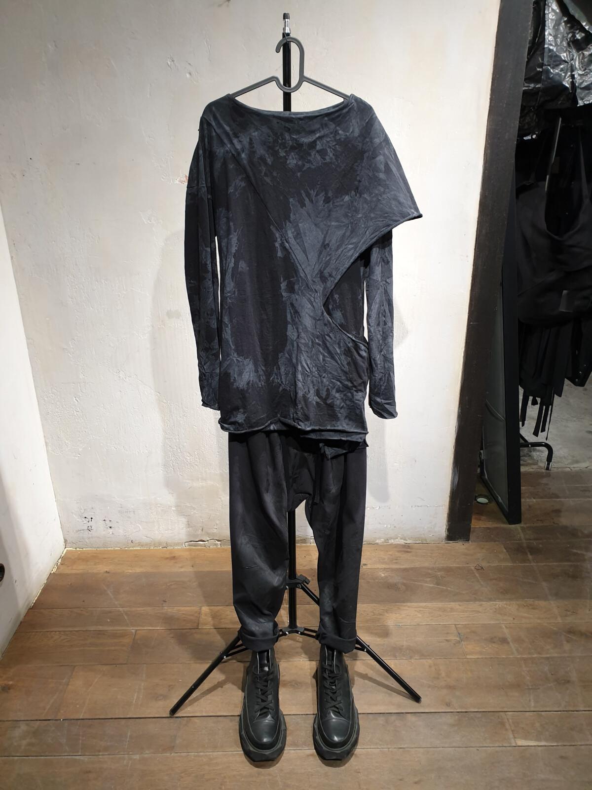 Лонгслив - Серый дождь