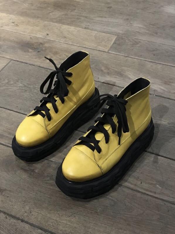 Ботинки - Жёлтые