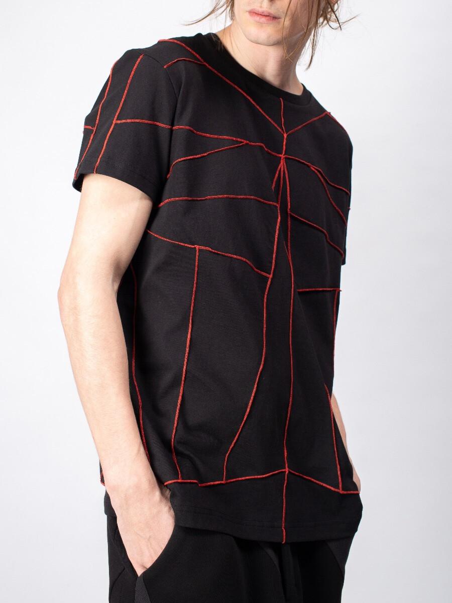 Мужская футболка - Красный символ