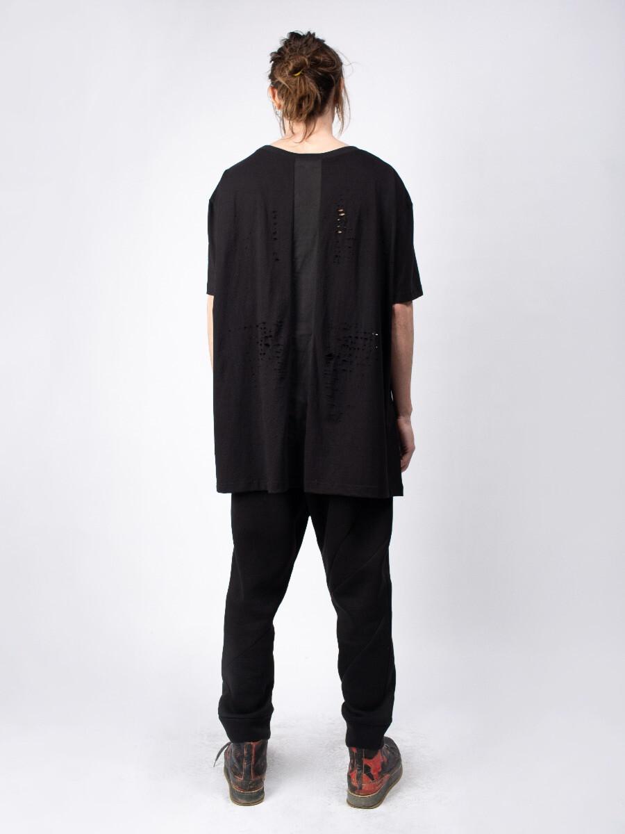 Мужская футболка - Чёрный крест