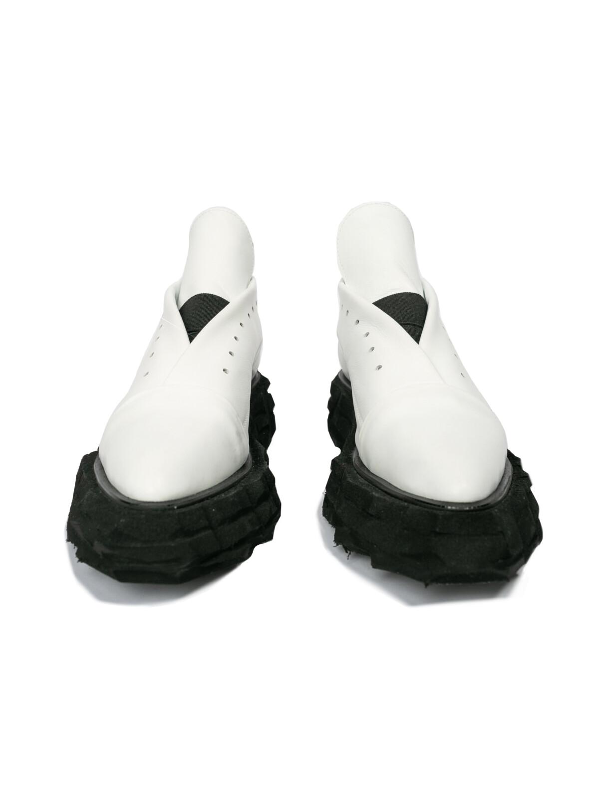 Ботинки - Белый конверт