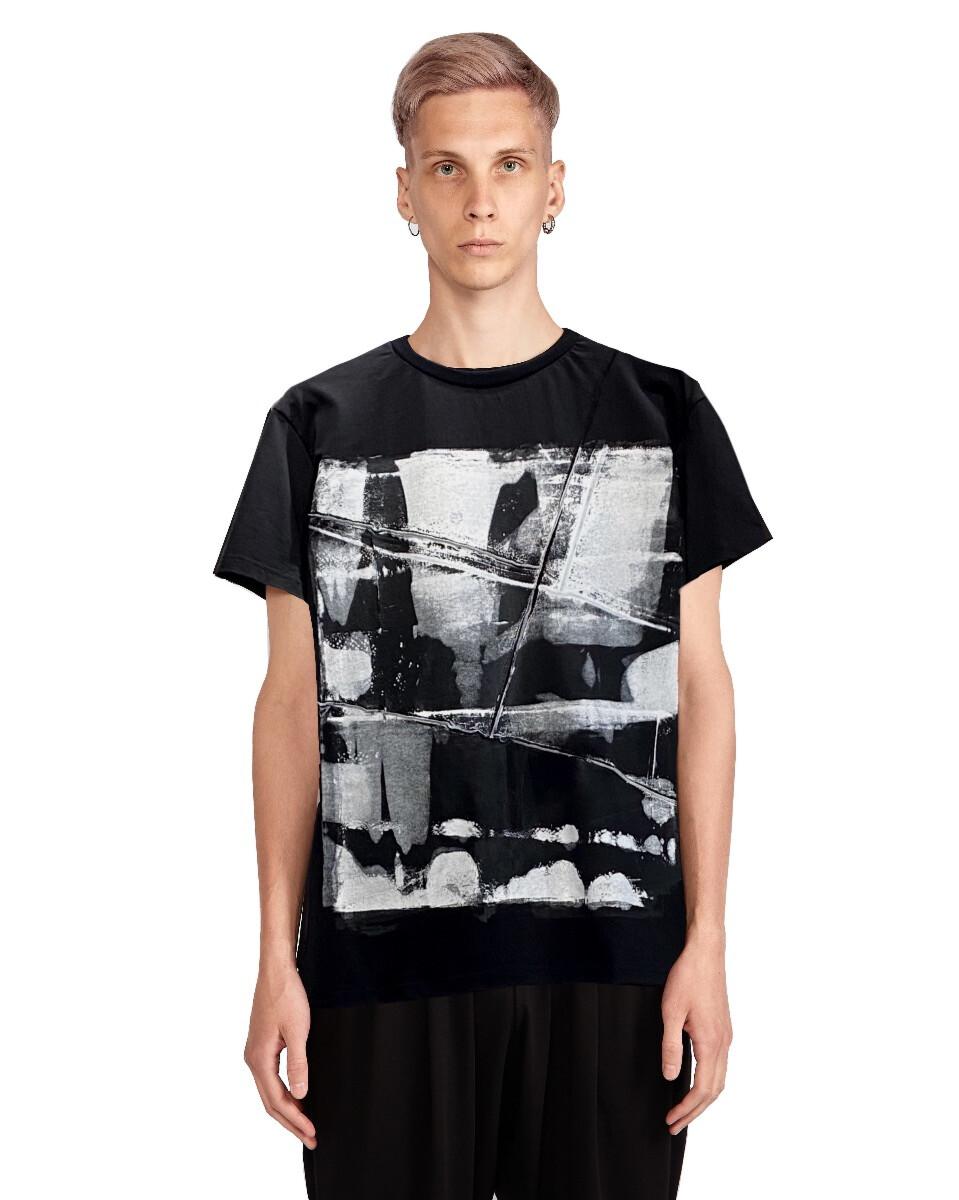 Мужская футболка - Белый шум