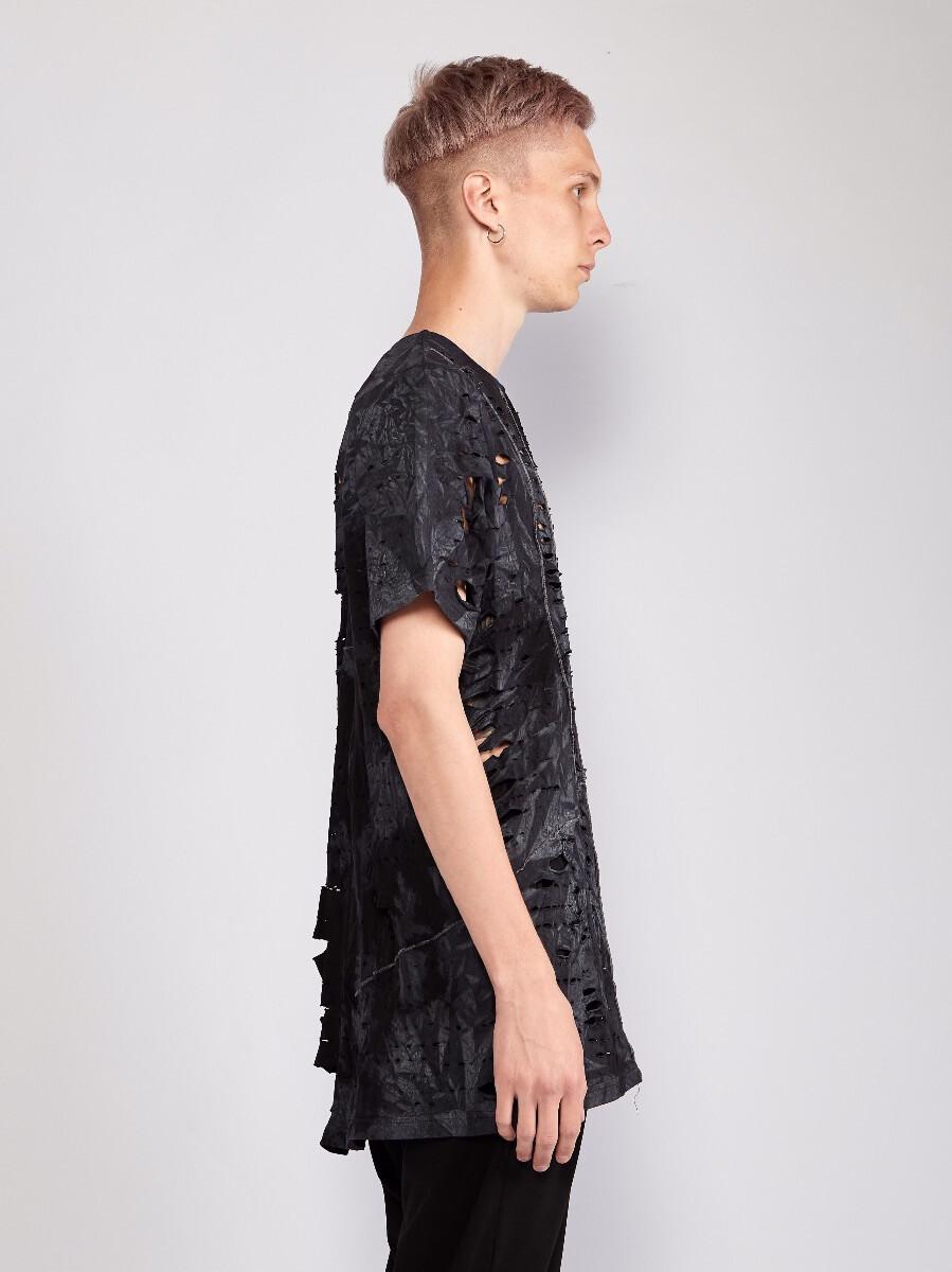 Мужская футболка - Серый туман